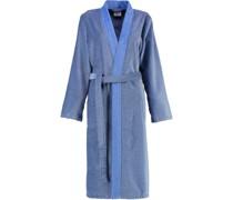 Bademantel Kimono Two-Tone 6431 blau - 17