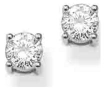 -Ohrstecker 925er Silber 0 Zirkonia One Size 32001361