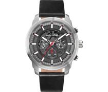 -Uhren Analog One Size Leder 87669513