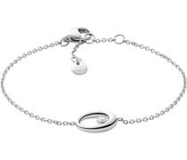 -Armband Edelstahl Glasstein One Size 88072391