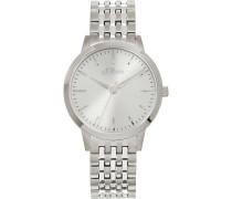 -Uhren Analog Quarz Silber/Blau 32015194