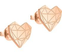 Berlin-Ohrstecker Edelstahl Gold Gold 32000983