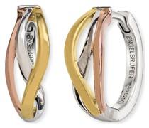 -Creolen Paradise 925er Silber rhodiniert One Size 87847195