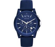 Uhren Analog Quarz Blau 32012585