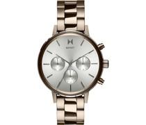-Uhren Analog Quarz Beige 32002144