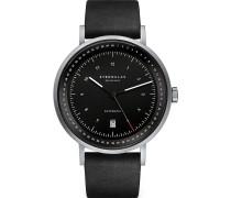 -Uhren Analog Automatik Braun Leder 32012080