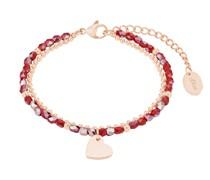 Armband für, Bracelet Bar, Edelstahl IP Rose