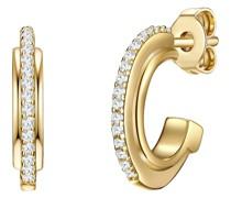 -Creolen 925er Silber 20 Zirkonia One Size 88162978