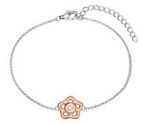 Armband BlumeSterling Silber Zirkonia (CZ) Silberarmband