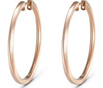 Silver-Creolen 925er Silber Gold Gold 32010184
