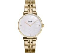 -Uhren Analog Quarz Gold 32012797