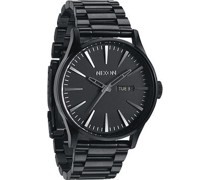 -Uhren Rund Analog Quarz One Size Edelstahl 85962914