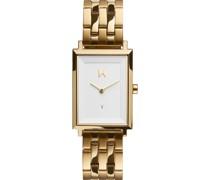 -Uhren Analog Quarz Gold/Weiß 32014832