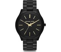 -Uhren Rund Analog Quarz One Size Edelstahl 86512491