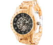 -Uhren Analog Automatik One Size Holz 88139054