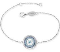 -Armband Armband Lucky Eye 925er Silber Zirkonia One Size 87928128