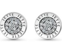 Silver-Ohrstecker 925er Silber 38 Zirkonia One Size 86992671