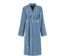 Bademantel Kimono Streifen 3339 blau - 11