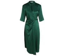Kleid Wrap Grün