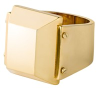 Ring Messing gelbgold