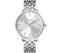 -Uhren Analog Quarz One Size Edelstahl 87466728