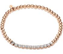-Armband Armband aus Edelstahl 12 Zirkonia Silber 32012240