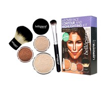 1 Stück Fair All over Face Highlight & Contour Kit Make-up Set