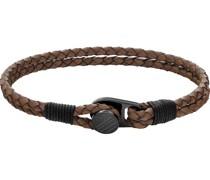 -Herrenarmband CASUAL Leder S 32012664