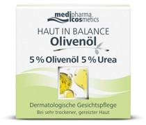 Olivenöl Haut in Balance Gesichtspflege 5 % Urea