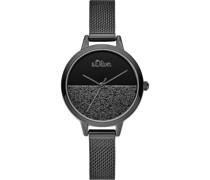 -Uhren Analog Quarz One Size Metall 87655113
