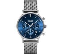 -Uhren Analog Quarz Silber 32010373