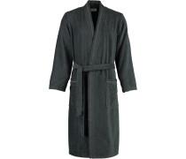 Bademantel Kimono 4511 anthrazit - 774