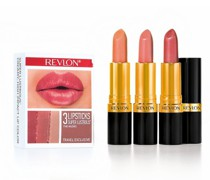 Lippenstifte 3er Set LUSTROUS LIPSTICK LIGHT
