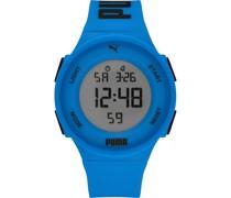 -Uhren Digital Quarz Weiß 32018360