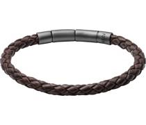 -Armband Edelstahl Braun One Size 32002859