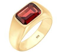 Ring Siegelring Edelstein Trend Statement 925 Silber