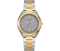 -Uhren Analog Quarz Silber/Schwarz 32012808
