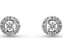 Diamonds-Ohrstecker 375er Weißgold 22 Diamant One Size 87375307