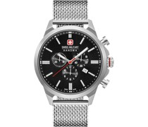 -Uhren Analog Quarz Silber 32011588