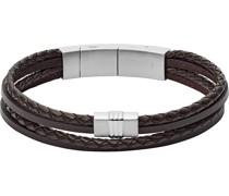-Herrenarmband Leder One Size 87552527