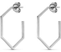-Creolen 925er Silber rhodiniert 4 32011546