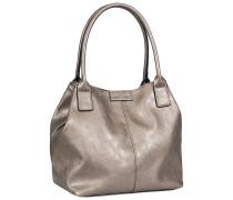 1 Stück  MiriPU Shopper Platin Tasche