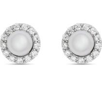 -Ohrstecker 925er Silber rhodiniert 26 Zirkonia One Size 87686078