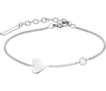 -Armband Edelstahl Silber 32012888