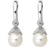 Pearls-Ohrhänger 925er Silber 2 Süßwasser One Size 87523501