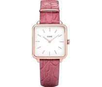 -Uhren Analog Quarz Pink 32005967