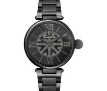 -Uhren Analog Quarz One Size Edelstahl 87344509