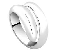 Ring Basic Wickelring Fingerschmuck 925 Sterling Silber Ringe