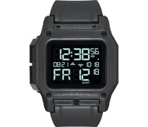 -Uhren Digital Quarz Anthrazit 32011877