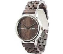 -Uhren Analog Automatik Sandelholz Holz 32015175